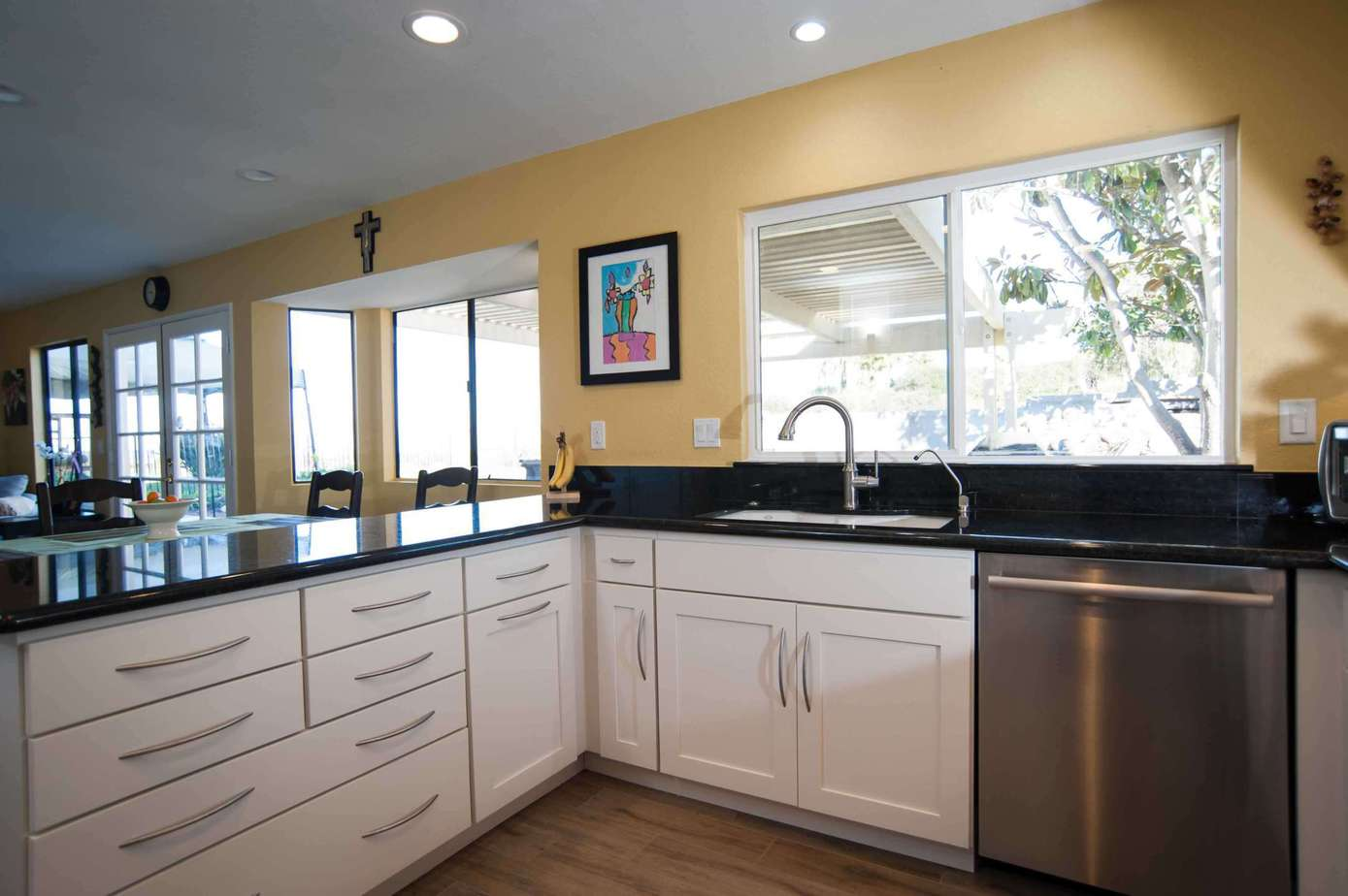 San diego kitchen remodeling classic home improvements - Open concept kitchen design ...