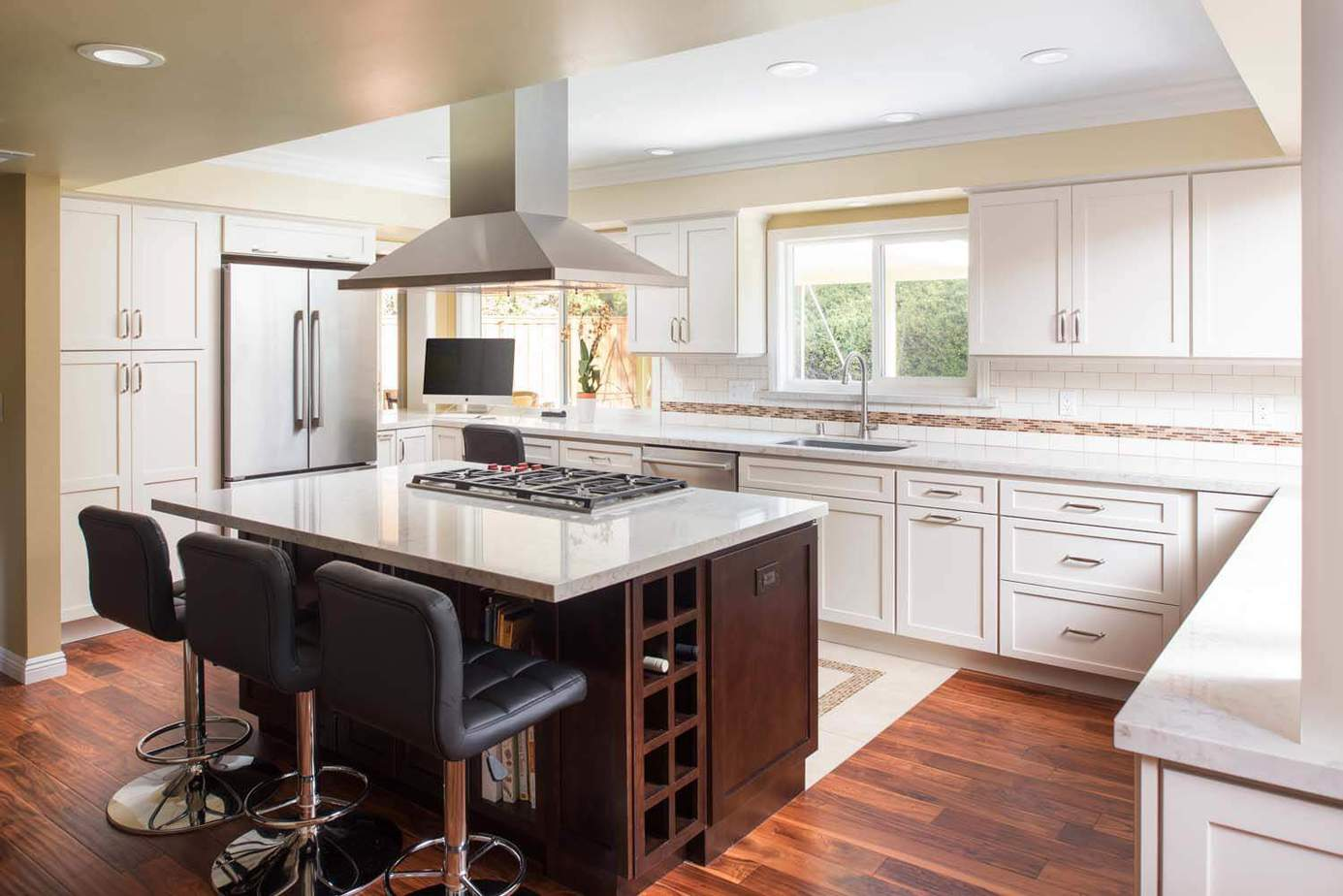 Kitchen Remodeled From Galley To Open Concept Classic
