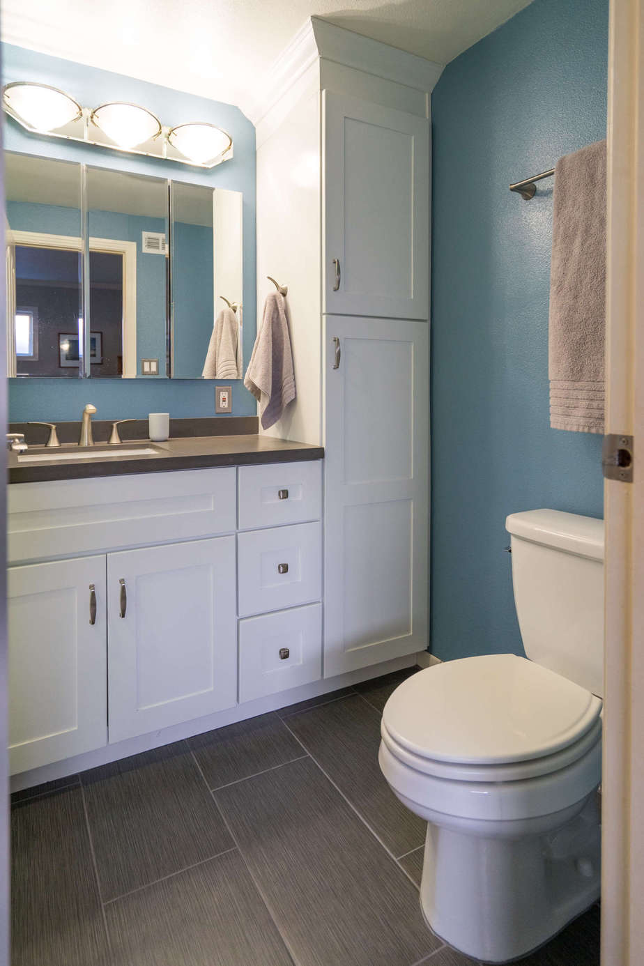 Bathroom Remodeling University small bathroom remodel university city - classic home improvements