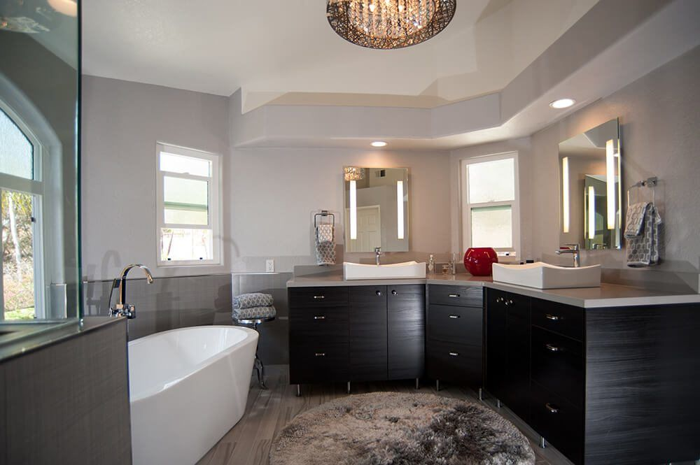 Updating outdated master bathrooms to a modern style for Bath remodel temecula