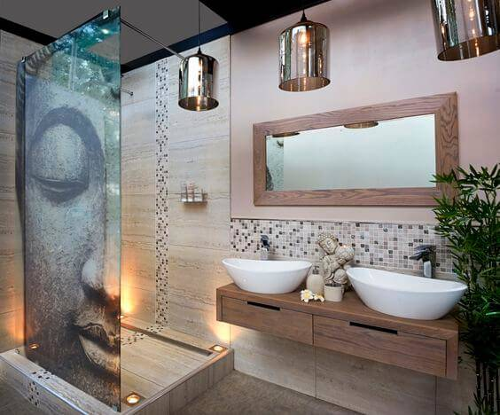 Contemporary Bathroom Space - Bathroom Designer San Diego CA