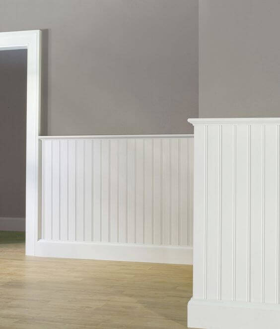 Beadboard Wainscoting - Home Improvements San Diego