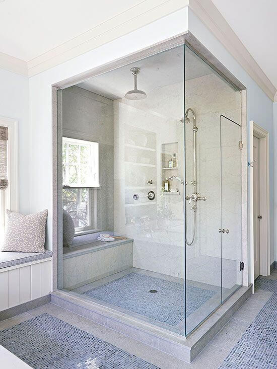 Understand the complexity behind installing a steam shower for Build steam shower