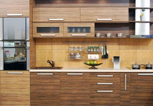 Kitchen Cabinets Brown - Kitchen Remodel Rancho Bernardo
