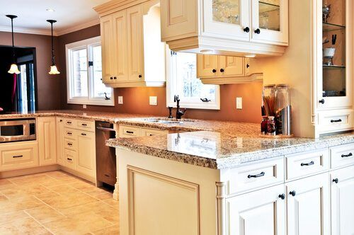 Kitchen Cabinets White - Kitchen Remodel Rancho Bernardo