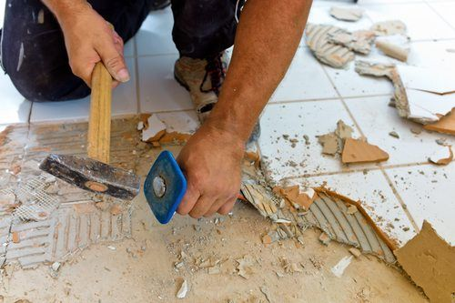 Bathroom Tile Removal - Bathroom Remodeling Encinitas