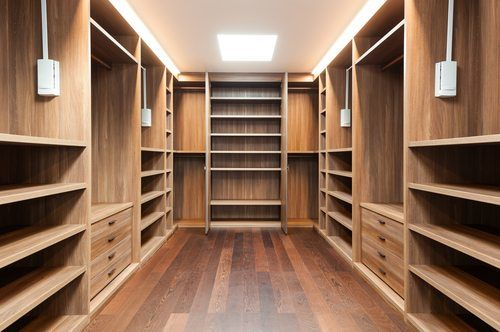 Spacious Closet - Room Additions Temecula CA