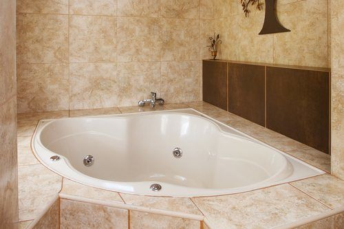Corner Bathtub - Bathroom Remodel in Escondido