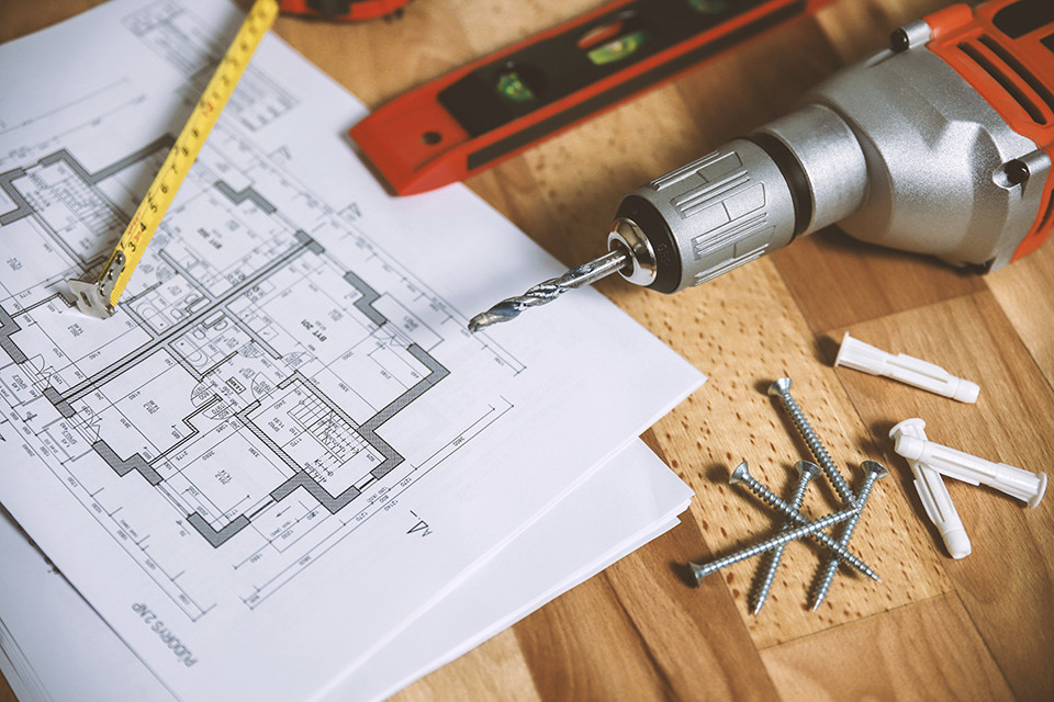 building plans and tools to prepare for home addition - Home Addition Building Plans
