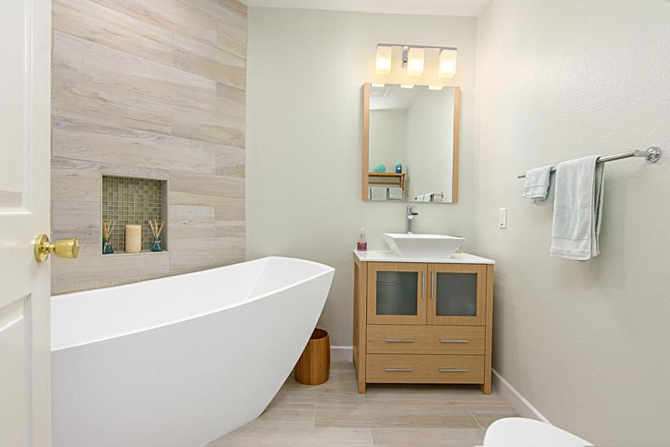 Rancho Bernardo (Small) Master Bathroom - Classic Home Improvements