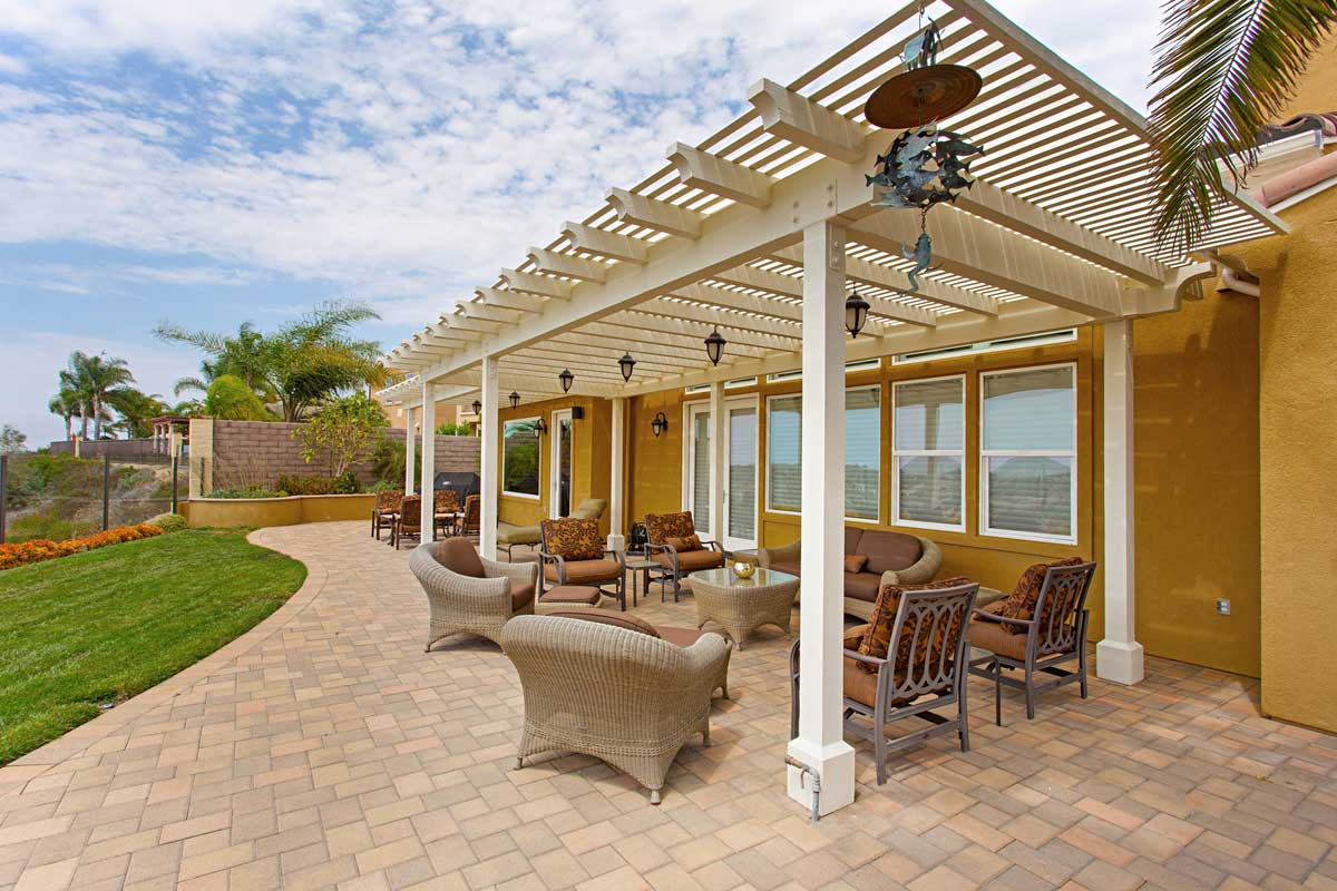 Large Patio Cover In Carlsbad Classic Home Improvements