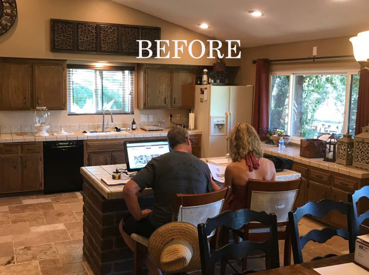 Fallbrook Kitchen Remodel With Structural Changes To Add