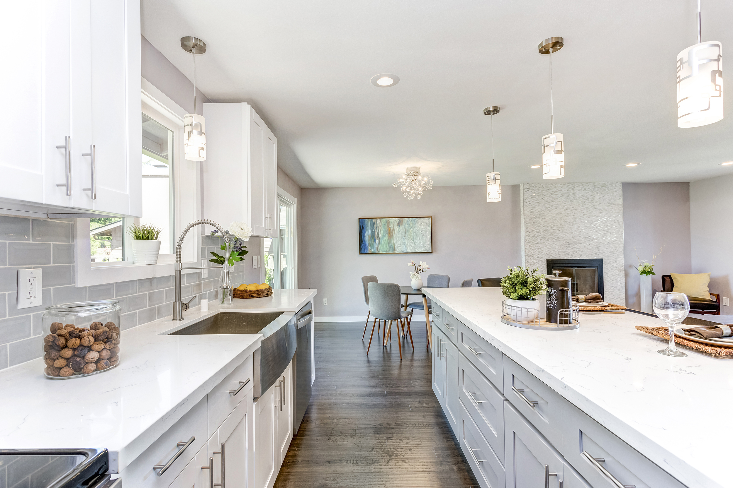 Creating Best Use Of Space For A Galley Kitchen Remodel